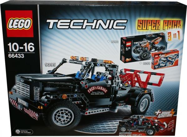66433 - Technic Super Pack 3 in 1 (8293, 9392, 9395)