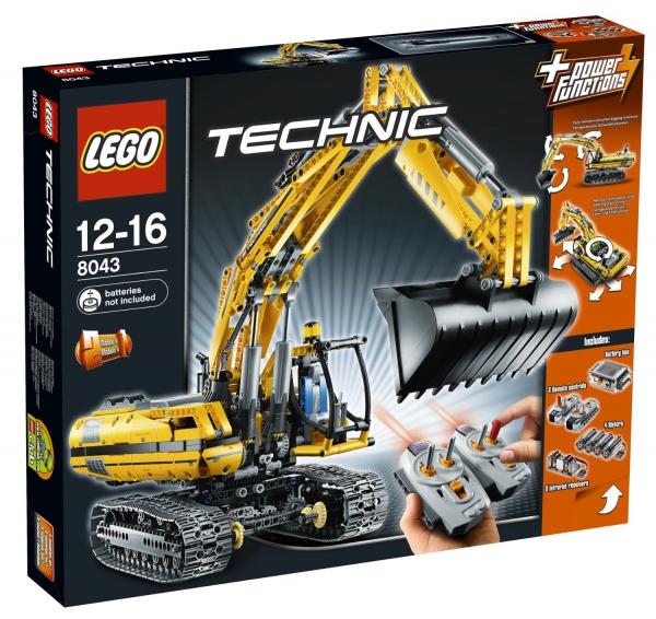 8043 - Motorized Excavator
