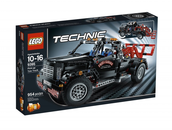 9395 - Pick-Up Tow Truck